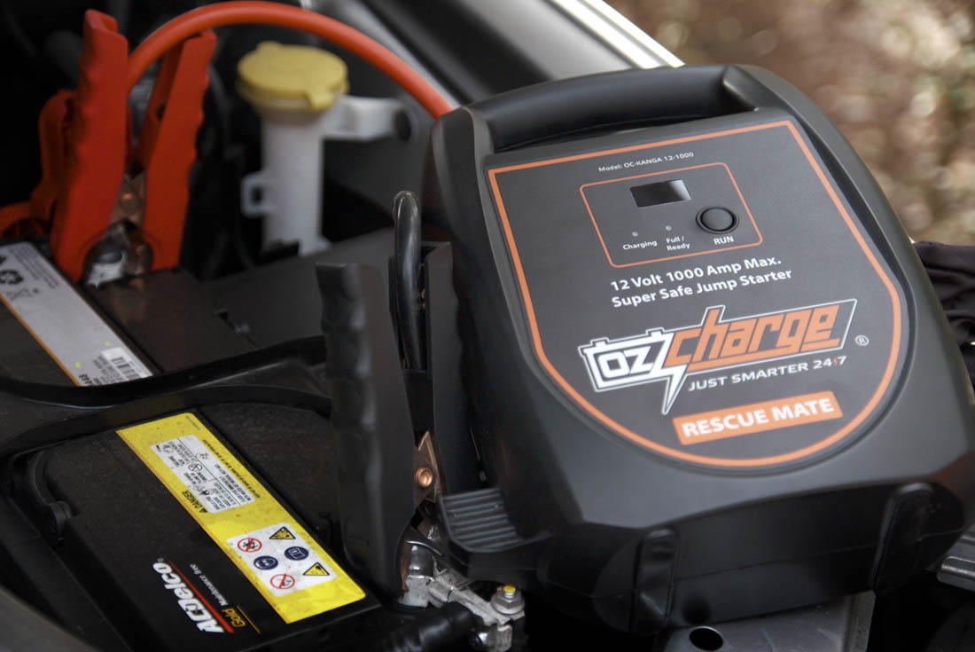 OzCharge RM1000 Super Capacitor Jump Starter Lifestyle