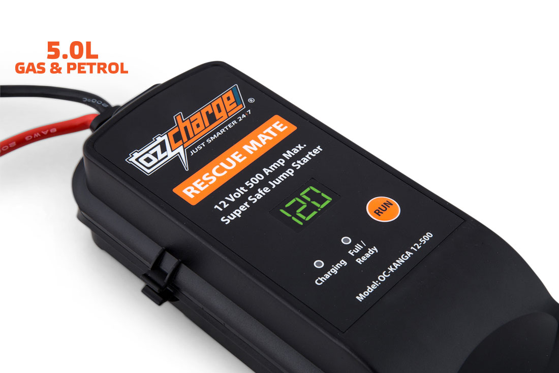 OzCharge RM500 Super Capacitor Jump Starter