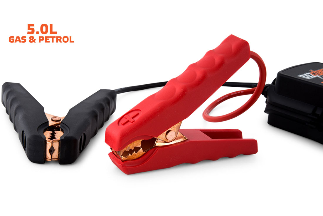 OzCharge RM500 Super Capacitor Jump Starter Leads