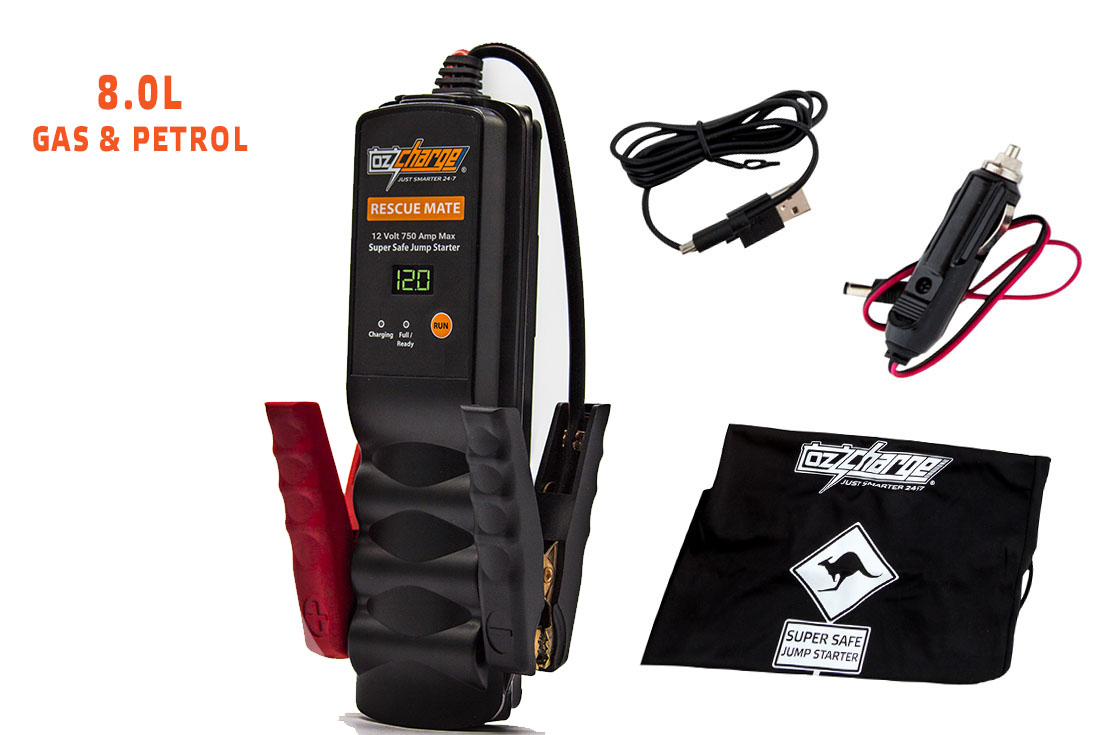 OzCharge RM750 Super Capacitor Jump Starter Accessories