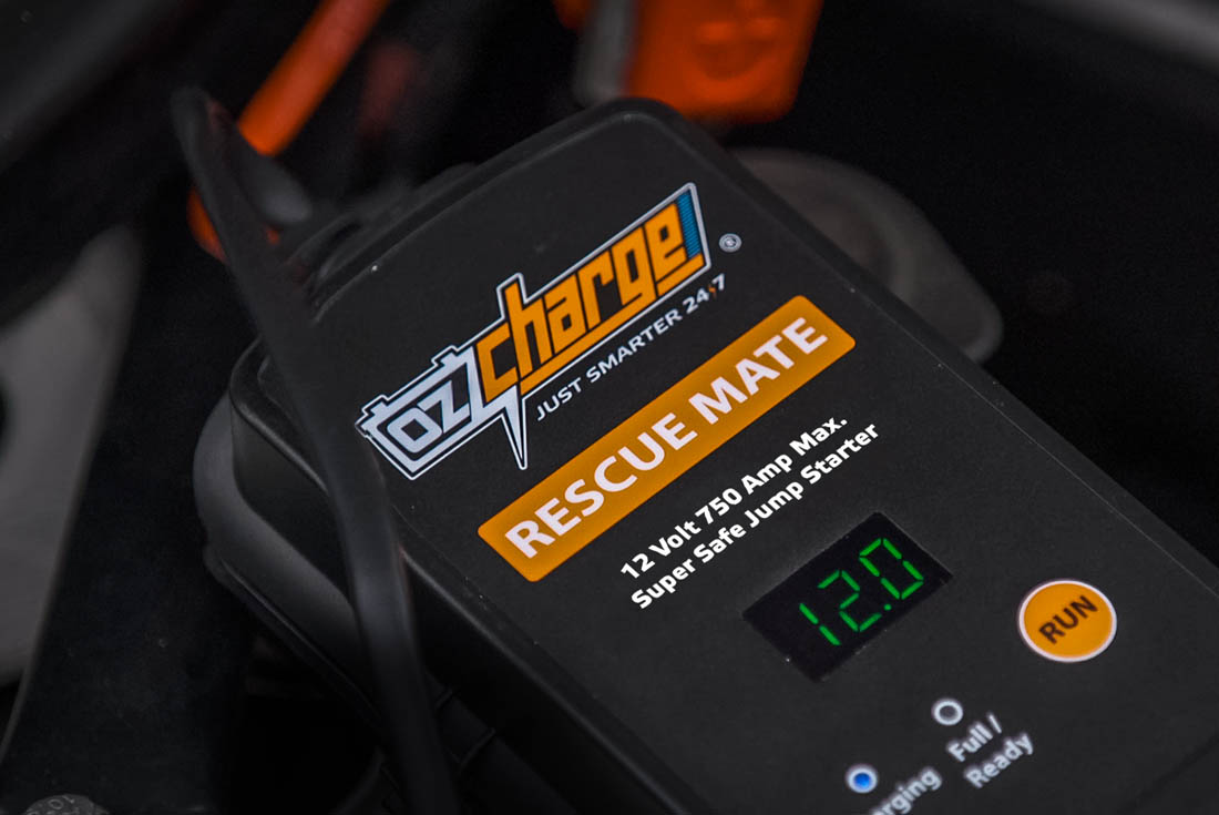 OzCharge RM750 Super Capacitor Jump Starter Lifestyle